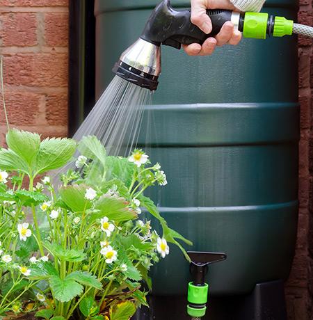 Installation de cuve de récupération eau de pluie près de Lens et Arras